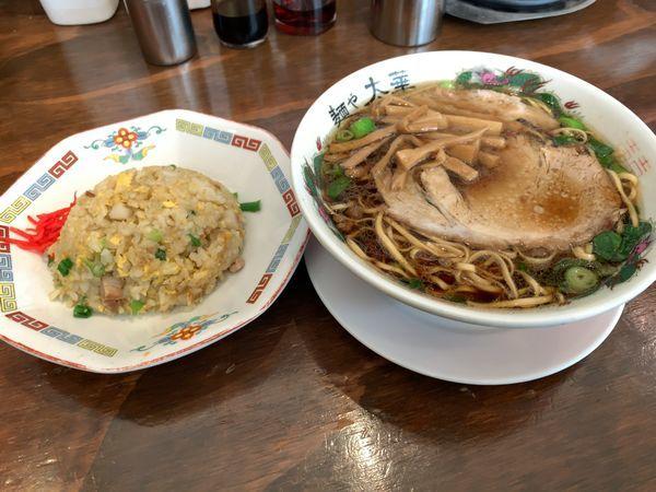 「中華そば 半チャーハン」@麺や 太華の写真