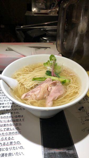 「塩生姜らー麺」@塩生姜らー麺専門店 MANNISHの写真