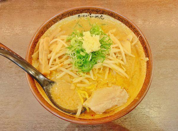「辛味噌ラーメン」@真武咲弥 渋谷店の写真