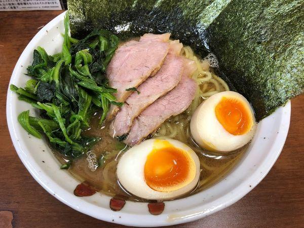 「特製ラーメン」@横浜らーめん 武蔵家 池袋店の写真