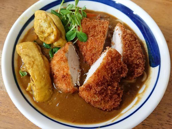 「【1月限定】サラリ鶏カレー(S)」@MENYA 食い味の道有楽の写真