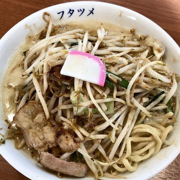 「濃厚カレータンメン+ウーロン茶」@フタツメ 伊勢崎店の写真