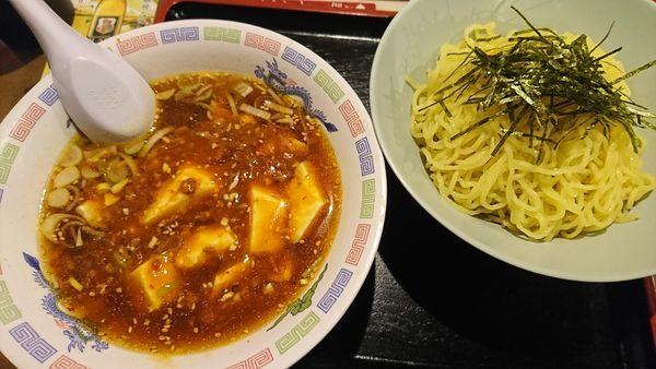 「マーボーつけ麺(680円)」@ラーメン王の写真