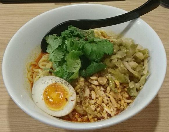 「カラシビ麺(汁なし)」@らーめん つけ麺 春樹 王子店の写真