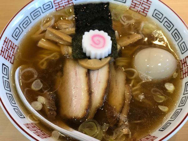 「煮干しそば+味玉 900円」@麺処 春の風の写真