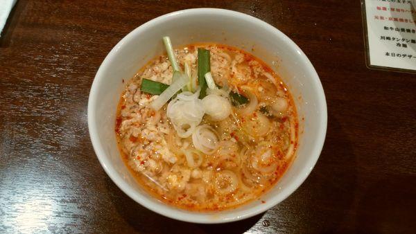「川崎タンタン麺」@焼肉グレート 神田店の写真