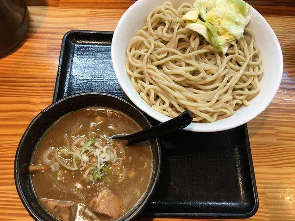 「肉つけ麺(大盛り)」@澤神の写真