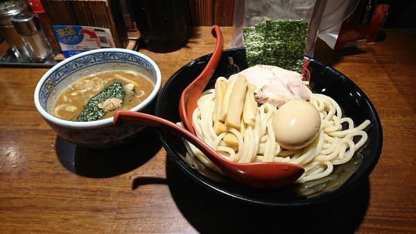 「三田盛りランチ(中盛)」@つけ麺専門店 三田製麺所 ヨドバシAkiba店の写真