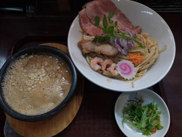 「オマール海老のドロつけ麺」@麺のようじの写真
