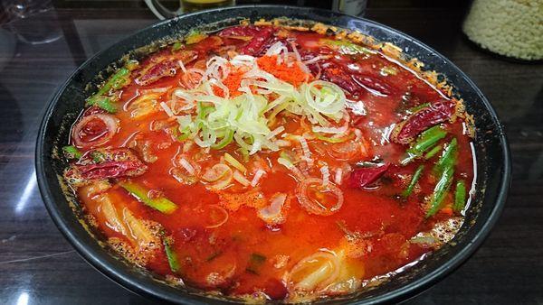 「鬼の涙」@元祖カレータンタン麺 征虎 総本店の写真