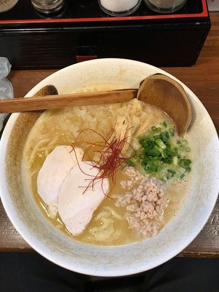 「濃厚鶏白湯ラーメン 780円」@麺匠ようすけの写真