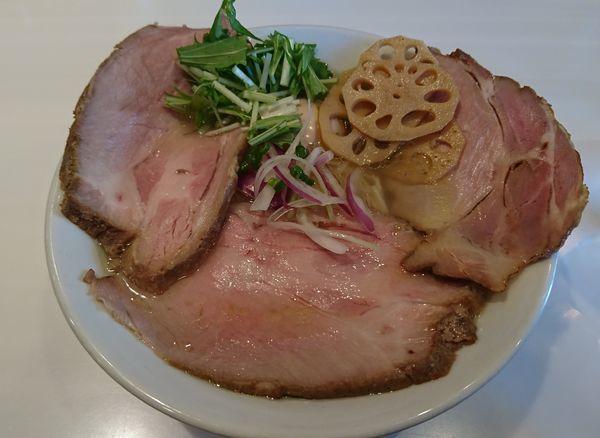「特製塩そば(1050円)」@麺や 彩~iro~の写真