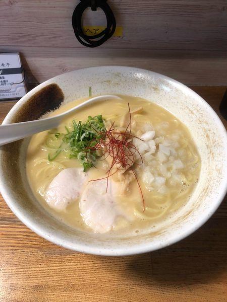 「濃厚鶏白湯」@麺匠ようすけ 鶏煮亭の写真