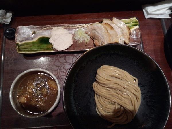 「チャーシューつけ麺」@つけ麺 繁田の写真