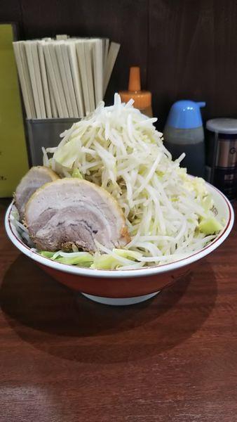 「31・1・19ラーメン、野菜ニンニクマシマシ(850円)」@ラーメン 豚んちの写真