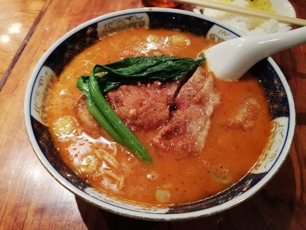 「ぱいこうだんだんめん」@支那麺 はしご 銀座本店の写真