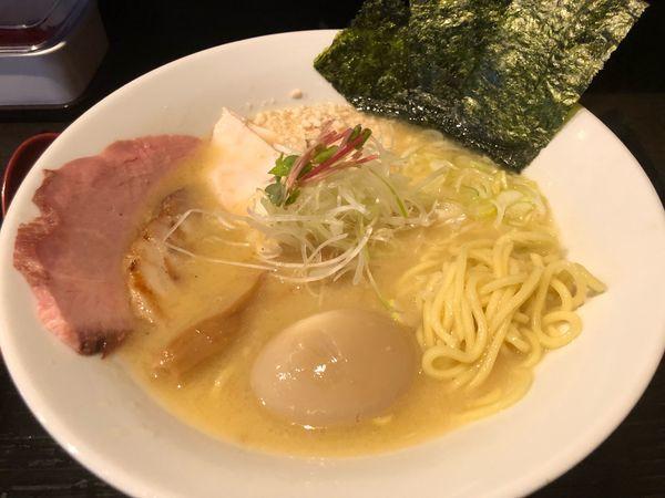 「特製ひげ味噌らあめん1100円」@龍のひげの写真
