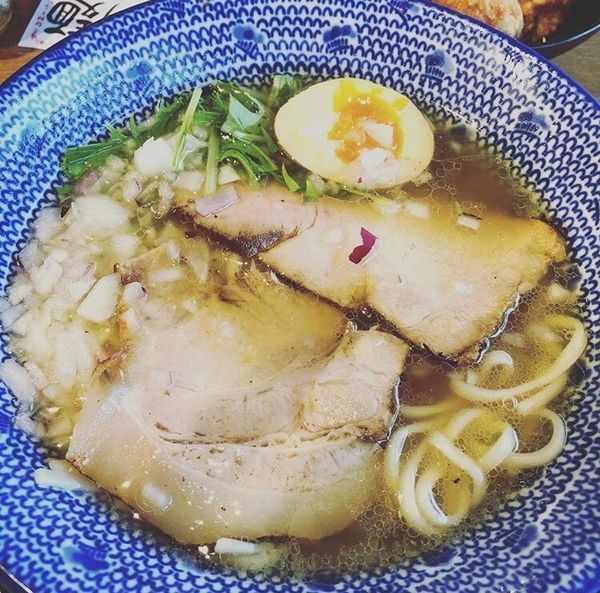 「あごだし熟玉そば」@無添加ラーメン専門 だしと麺の写真