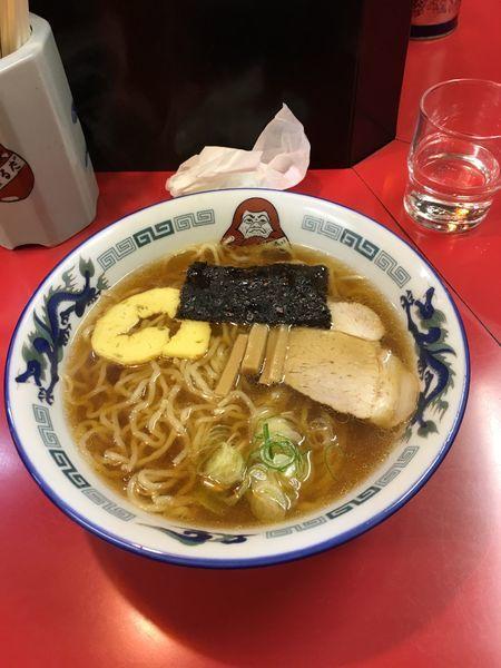 「醤油ラーメン」@だるま軒の写真