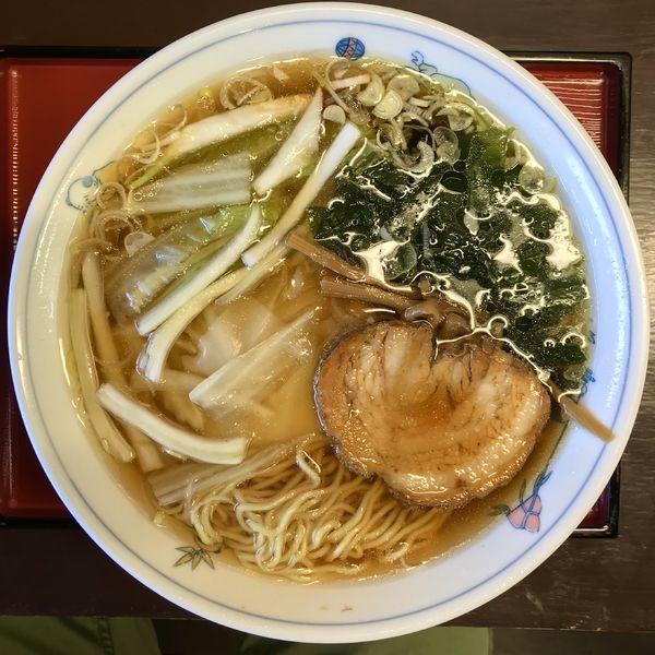 「ワンタン麺 ¥750円」@天の川の写真