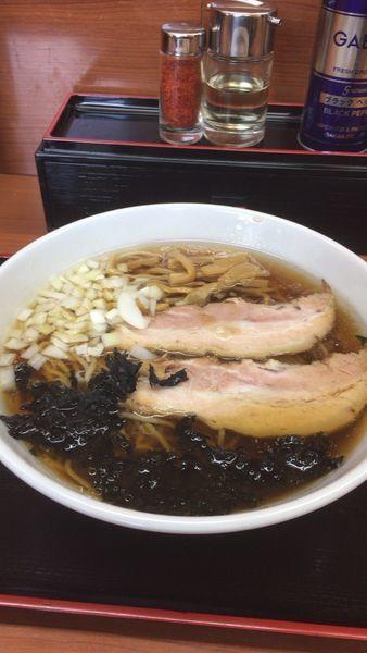 「淡麗ラーメン」@肉煮干中華そば 鈴木ラーメン店の写真