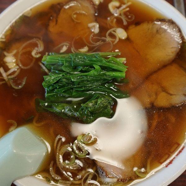 「チャーシューメン750円」@おおつき食堂の写真
