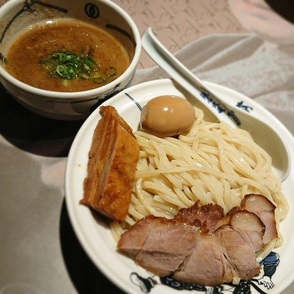 「濃厚武蔵つけ麺 中」@麺屋武蔵 芝浦本巻の写真