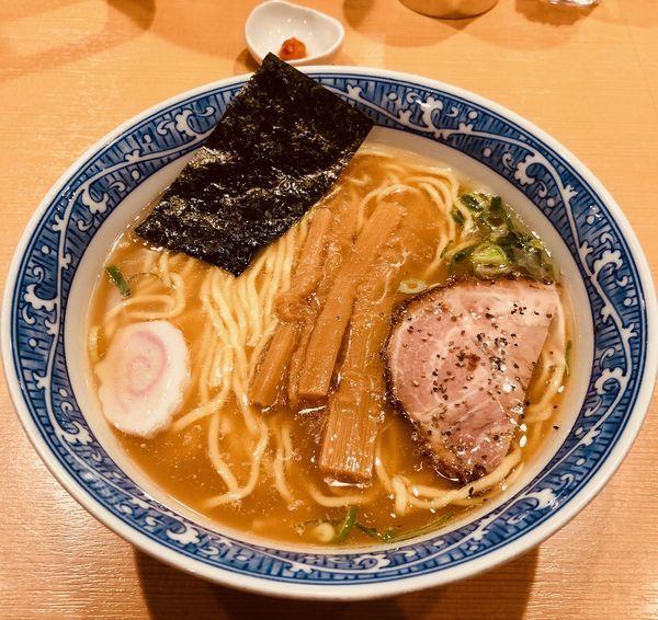 「中華そば(麺カタ¥730)」@中華そば 青葉 御徒町店の写真