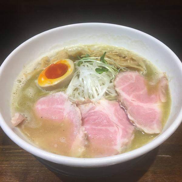 「魚介鶏白湯ラーメン 大盛り」@えびす丸の写真