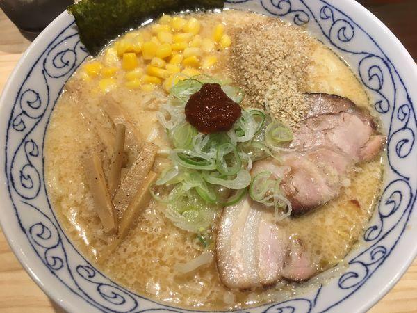 「白味噌ラーメン」@麺屋 必道の写真