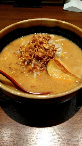 「北海道味噌ラーメン」@麺場 田所商店 高崎店の写真