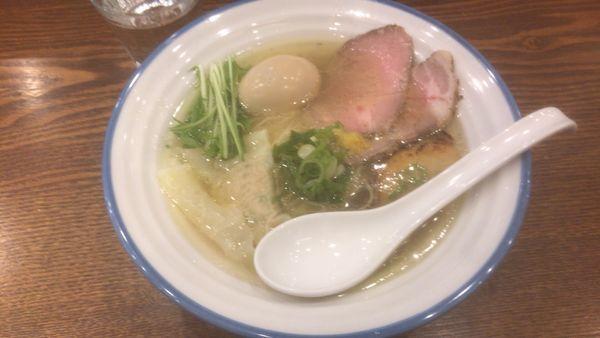 「特製潮そば:950円」@鶏そば 志いなの写真