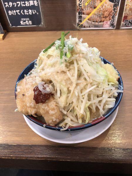 「ラーメン大盛(300g) 全マシ(多め)」@太一商店 行橋店の写真