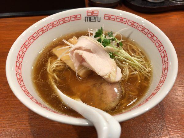 「醤油らぁ麺 780円」@noodle kitchen 六九麺の写真