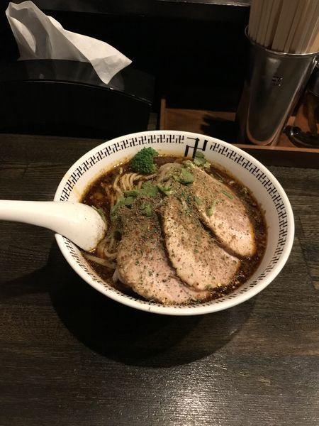 「チャーシュー大スパイス辛さ増し」@スパイス・ラー麺 卍力の写真
