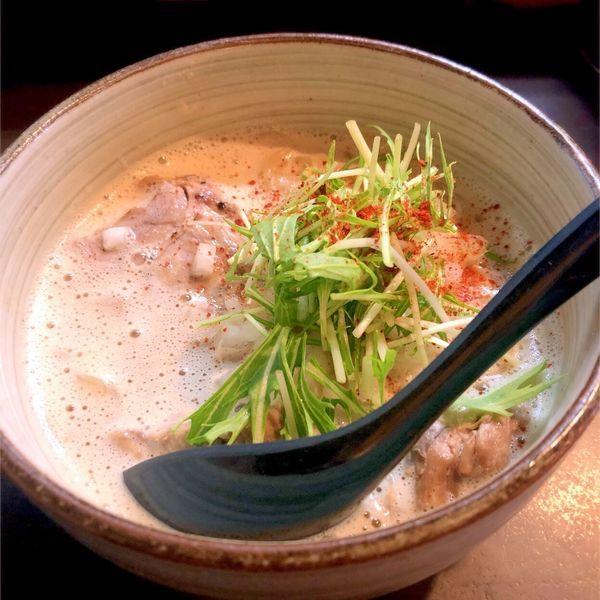 「ラーメン(大盛り/無料)🍜」@麺処 と市の写真