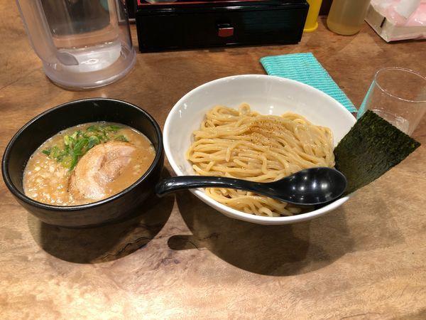 「赤味噌 つけ麺 (830円)」@小杉らぁめん つけめん 夢番地の写真