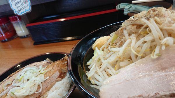 「汁なし 家次郎麺」@横濱家系ラーメン 湘家の写真