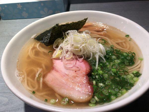 「煮干蕎麦(塩)750円」@喜乃壺の写真