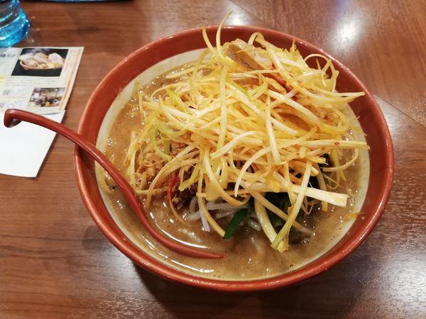 「伊勢味噌らーめん」@蔵出し味噌 麺場壱歩 入間店の写真