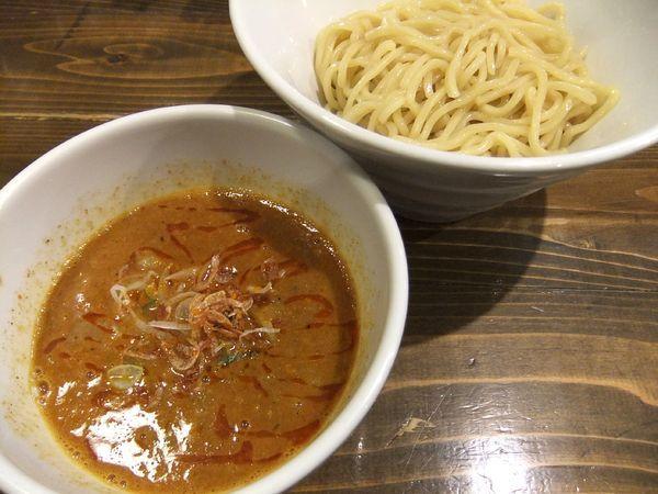 「海老辛濃厚煮干しつけ麺(960円)」@煮干しそば 虎空の写真