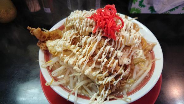 「焼肉パンチヌードル 890円(大盛無料)」@ラッキー食堂 まとやの写真