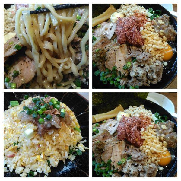 「コンビーフまぜSOBA」@麺家 Shumen Doushiの写真