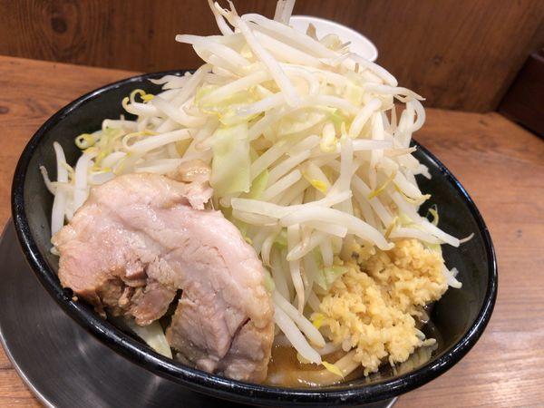 「味噌ラーメン(ヤサイ増し・ショウガ)」@ジャンクガレッジ 森下店の写真