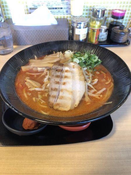 「辛味噌ラーメン」@味噌屋蔵之介 東松山店の写真