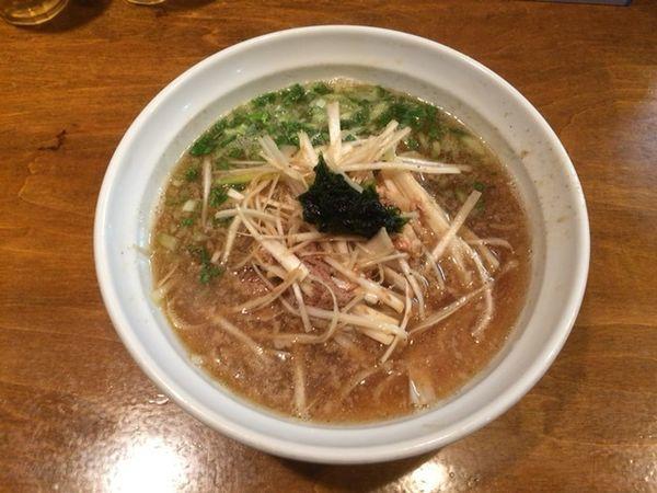「ネギ煮干ラーメン(醤油)」@はりけんラーメンの写真