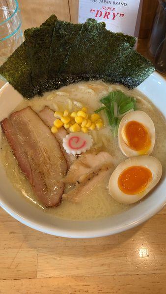 「特製鶏白湯」@麺処 誠信の写真
