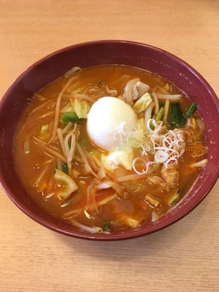 「旨辛味噌ラーメン(750円)」@お食事処 咲楽の写真
