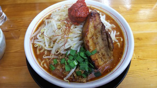 「しびれベトコン誤爆 900円」@ラーメン・つけ麺 爆王の写真