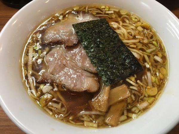 「煮干生姜ラーメン」@麺家ひまりの写真